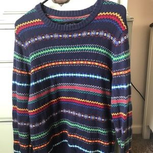 Men's athletic fit holiday sweater